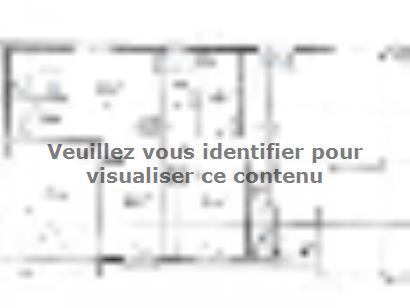 Plan de maison PLP_R_GI_107m2_3ch_P2716 3 chambres  : Photo 1