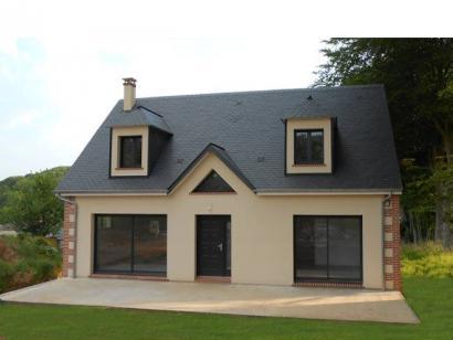 Modèle de maison ETG_R_SS_130m2_5ch_P13508 5 chambres  : Photo 1
