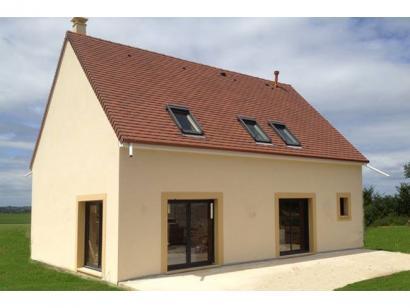 Modèle de maison ETG_R_SS_161m2_4ch_P2693 4 chambres  : Photo 1