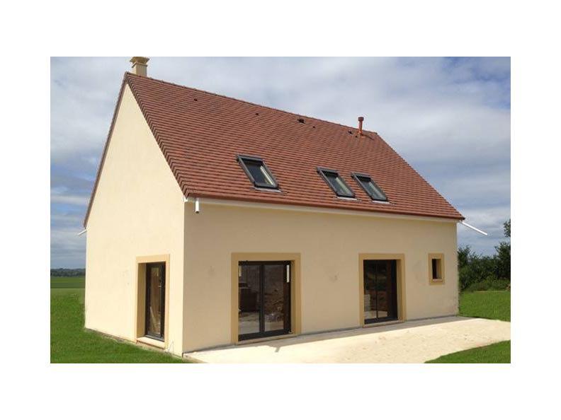 Modèle de maison ETG_R_SS_161m2_4ch_P2693 : Vignette 1