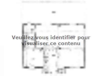 Plan de maison ETG_R_SS_161m2_4ch_P2693 4 chambres  : Photo 1