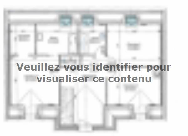 Plan de maison ETG_R_SS_161m2_4ch_P2693 : Vignette 2