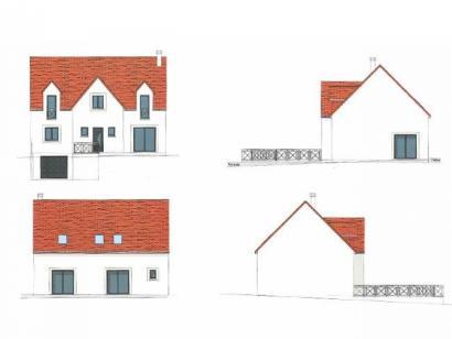 Plan de maison ETG_R_SS_161m2_4ch_P2693 4 chambres  : Photo 3