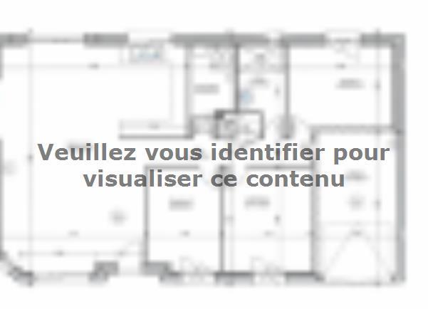 Plan de maison PLP_R_GI_91m2_3ch_P1806 : Vignette 1