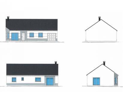 Plan de maison PLP_R_GI_91m2_3ch_P1806 3 chambres  : Photo 2