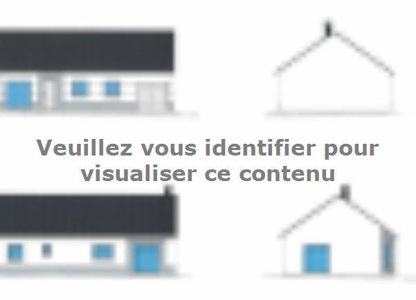 Plan de maison PLP_R_GI_91m2_3ch_P1806 : Vignette 2