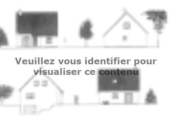 Plan de maison ETG_R_SS_CA_64m2_1ch_P13092 : Vignette 1