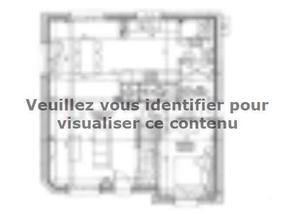 Plan de maison ETG_R_SS_CA_64m2_1ch_P13092 : Vignette 2