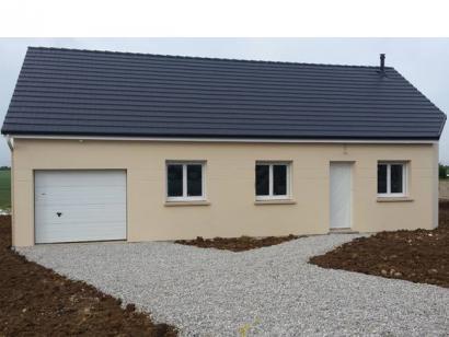 Modèle de maison PLP_R_GI_84m2_3ch_P14868 3 chambres  : Photo 1