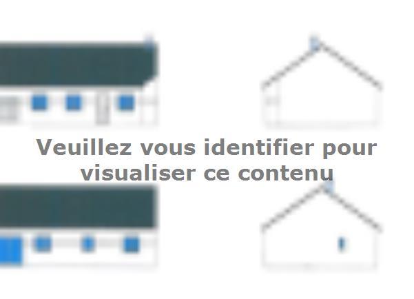 Plan de maison PLP_R_GI_84m2_3ch_P14868 : Vignette 1