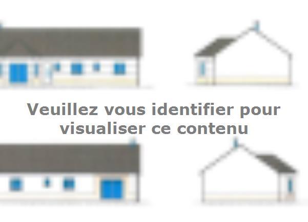 Plan de maison PLP_BW_SG_111m2_3ch_P6176 : Vignette 1