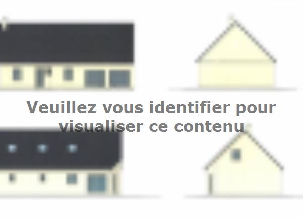 Plan de maison ETG_R_GI_CA_75m2_1ch_P13319 : Vignette 1