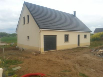 Modèle de maison ETG_R_GI_CA_77m2_1ch_P2672 1 chambre  : Photo 2
