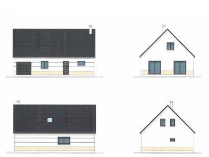 Plan de maison ETG_R_GI_CA_77m2_1ch_P2672 1 chambre  : Photo 1