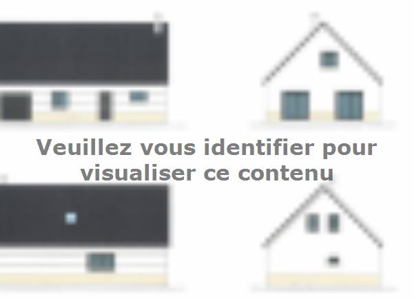 Plan de maison ETG_R_GI_CA_77m2_1ch_P2672 : Vignette 1