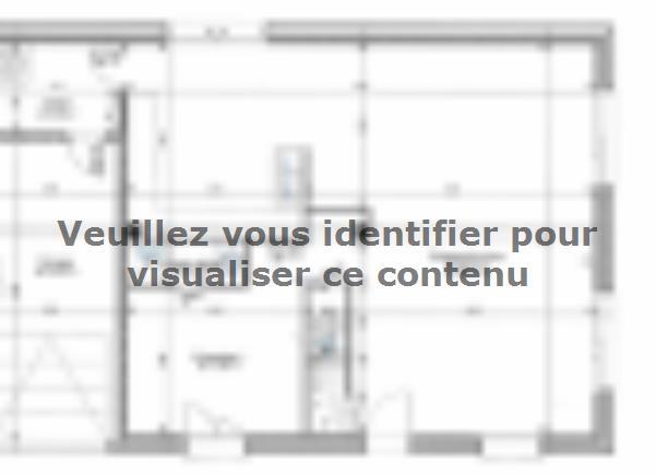Plan de maison ETG_R_GI_CA_77m2_1ch_P2672 : Vignette 2