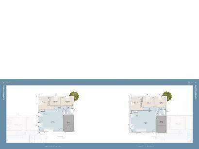 Plan de maison CASTELLANAISE 88 3 chambres  : Photo 1