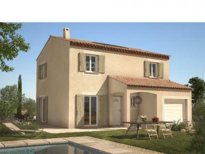 Modèle de maison Gardoise 90 3 chambres  : Photo 1