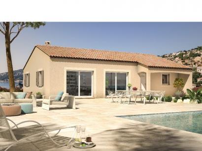 Modèle de maison Monegasque 93 3 chambres  : Photo 1