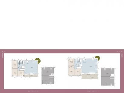 Plan de maison Nicoise 87 3 chambres  : Photo 1
