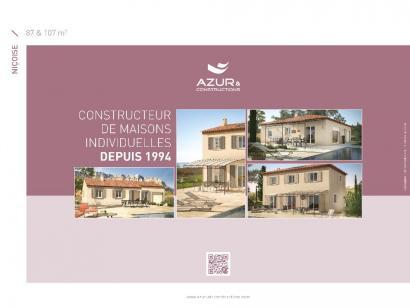 Plan de maison Nicoise 87 3 chambres  : Photo 2