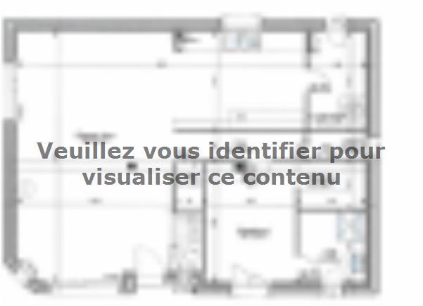 Plan de maison ETG_R_SG_120m2_4ch_P2925 : Vignette 1