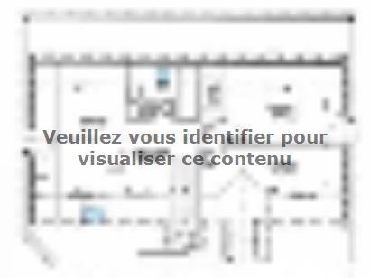 Plan de maison ETG_R_SG_120m2_4ch_P2925 4 chambres  : Photo 2