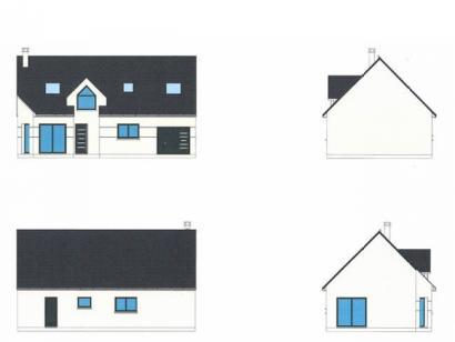 Modèle de maison ETG_R_GI_101m2_3ch_P68415 3 chambres  : Photo 2
