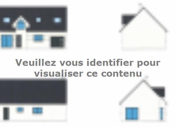 Modèle de maison ETG_R_GI_101m2_3ch_P68415 : Vignette 2