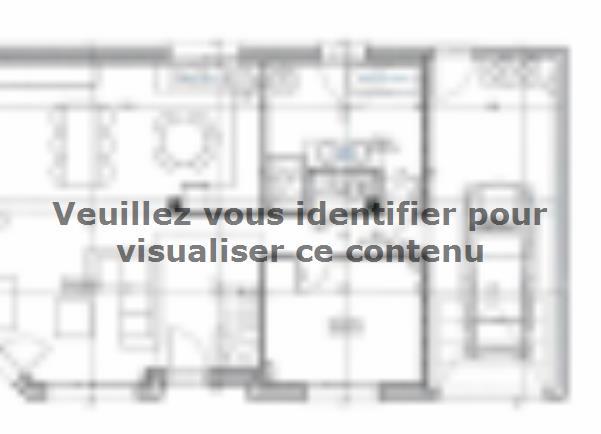Plan de maison ETG_R_GI_101m2_3ch_P68415 : Vignette 1