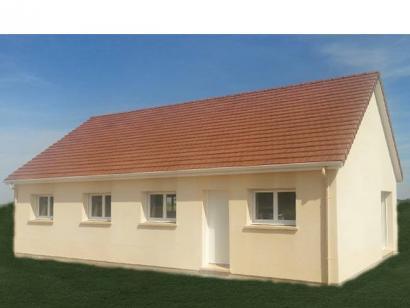 Modèle de maison PLP_R_SG_92m2_3ch_P6200 3 chambres  : Photo 1