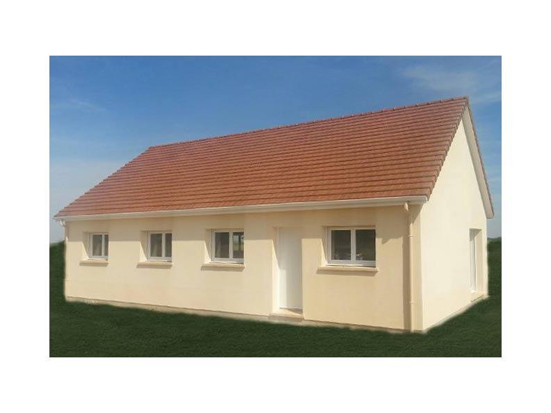 Modèle de maison PLP_R_SG_92m2_3ch_P6200 : Vignette 1