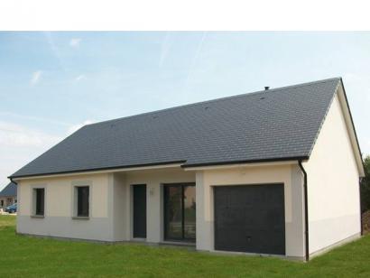 Modèle de maison PLP_R_GI_96m2_3ch_P1661 3 chambres  : Photo 1