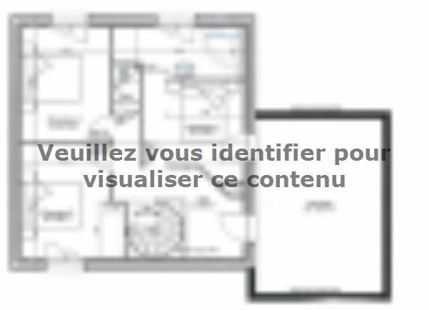 Plan de maison ETG_TT_SG_115m2_3ch_P13942 : Vignette 2