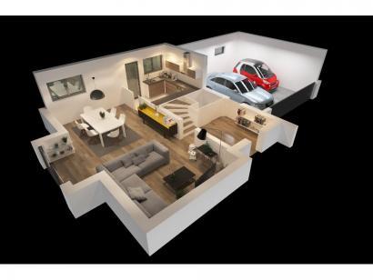 Modèle de maison CAMILLE VS 4 chambres  : Photo 8