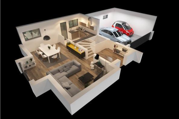 Modèle de maison CAMILLE VS 4 chambres  : Photo 2