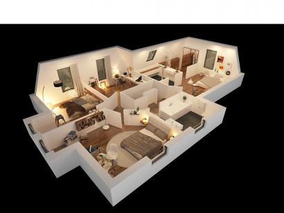 Modèle de maison CAMILLE VS 4 chambres  : Photo 3
