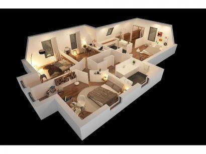 Modèle de maison CAMILLE VS 4 chambres  : Photo 9