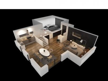 Modèle de maison INES VS 3 chambres  : Photo 3