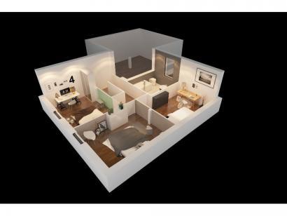 Modèle de maison INES VS 3 chambres  : Photo 4