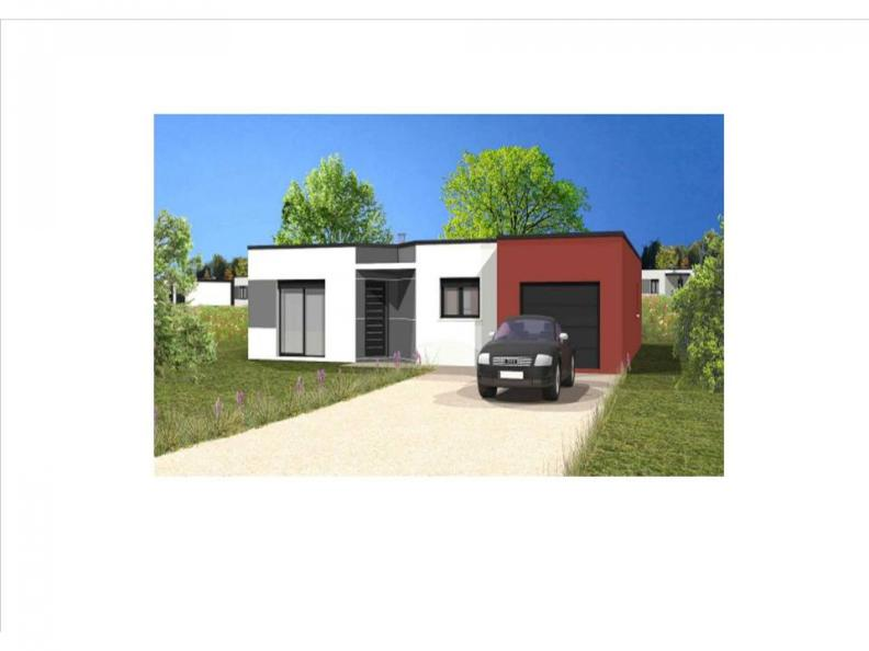 Modèle de maison Avant projet Charron - 4 chambres - 107m² : Vignette 1