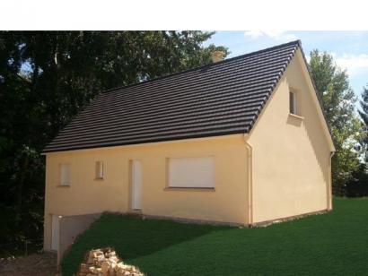 Modèle de maison ETG_R_SS_CA_81m2_2ch_P13603 2 chambres  : Photo 1