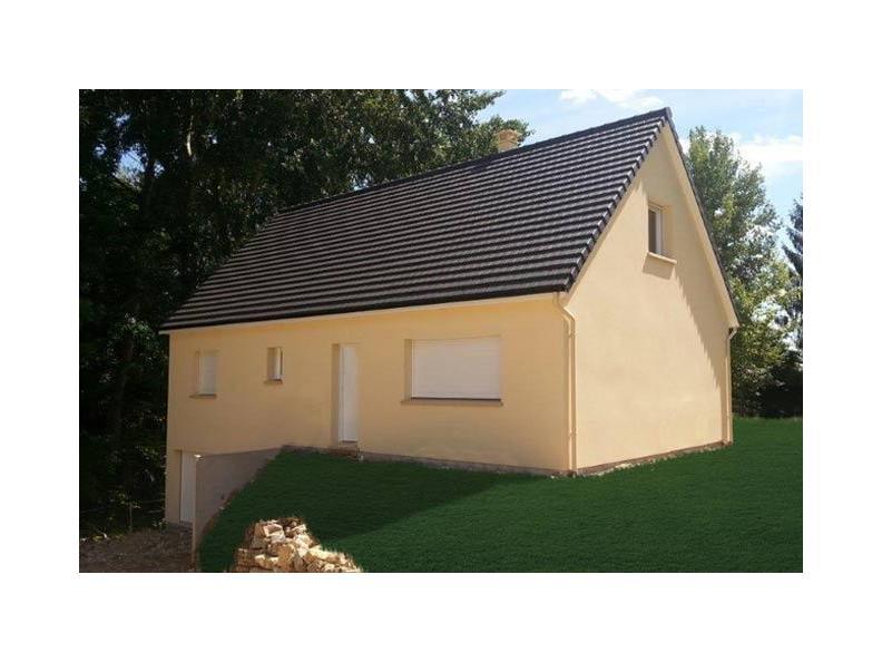 Modèle de maison ETG_R_SS_CA_81m2_2ch_P13603 : Vignette 1