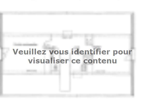 Plan de maison ETG_R_SS_CA_81m2_2ch_P13603 : Vignette 2