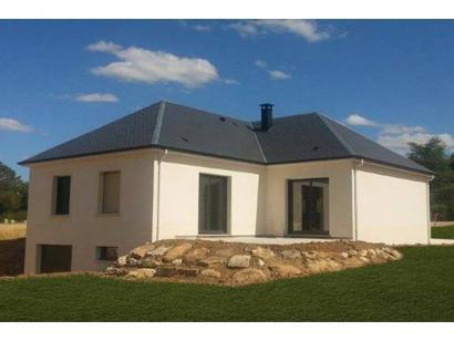 Modèle de maison PLP_T_SS_124m2_2ch_P15334 2 chambres  : Photo 1