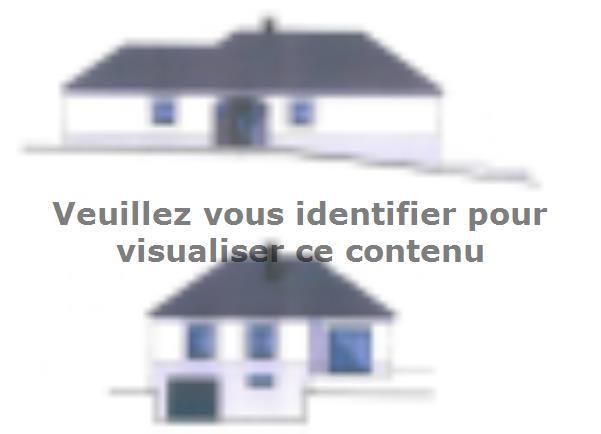 Modèle de maison PLP_T_SS_124m2_2ch_P15334 : Vignette 2