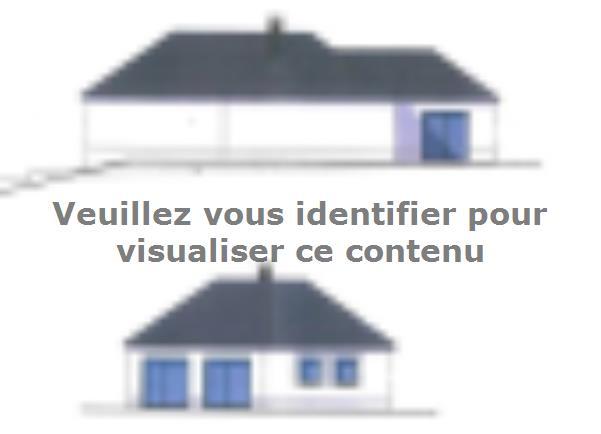 Modèle de maison PLP_T_SS_124m2_2ch_P15334 : Vignette 3