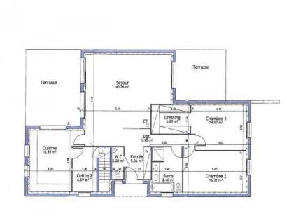 Modèle de maison PLP_T_SS_124m2_2ch_P15334 2 chambres  : Photo 4