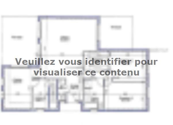 Modèle de maison PLP_T_SS_124m2_2ch_P15334 : Vignette 4