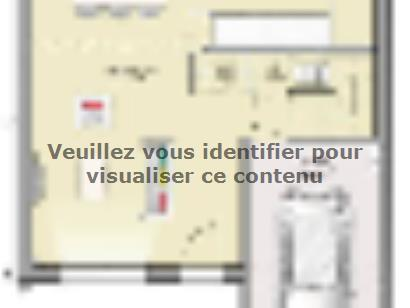 Plan de maison Open Nord ETG GI accès Nord 93 so design 4 chambres  : Photo 1